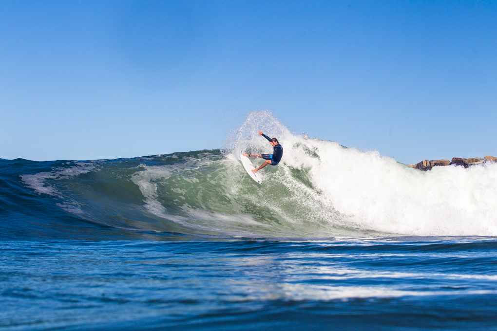 Mitch banging the top off his last wave